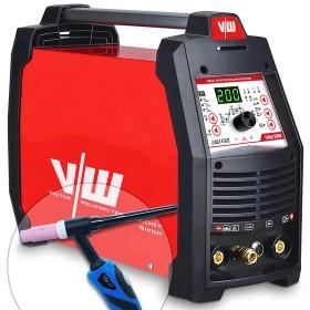 Máquina de soldadora DC TIG 200A, inversor, pulso, Stick/MMA 170A, encendido HF, IGBT | Tokyo 2300